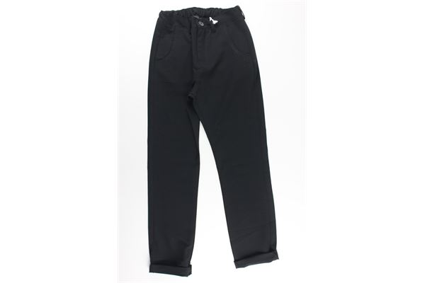 NUMBERS | Trousers | 19004NERO