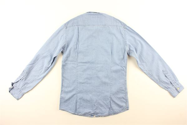 camica jeans tinta unita NUPKEET | Camicie | 01NK566AZZURRO