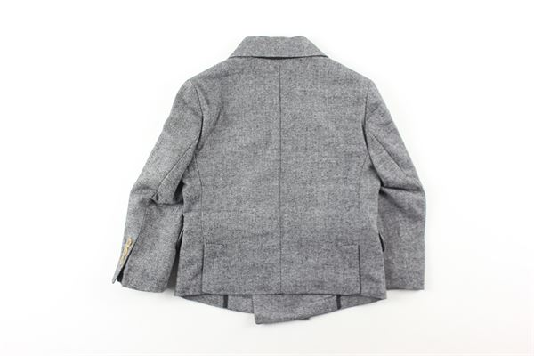 giacca tinta unita con tasche finte NUPKEET | Giubbini | 04NK769GRIGIO