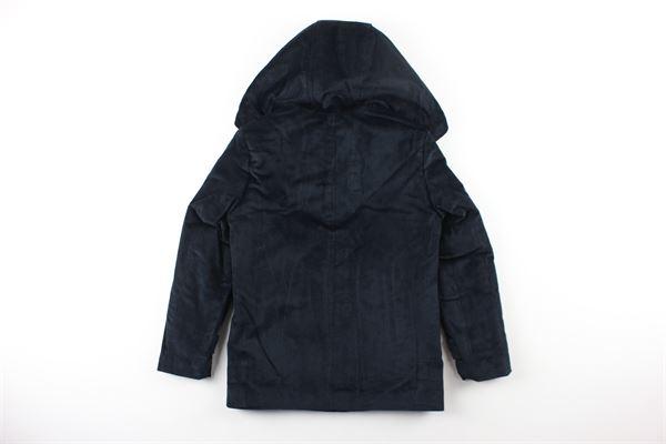 cappotto in velluto tinta unita NUPKEET | Giubbini | 04NK797BLU