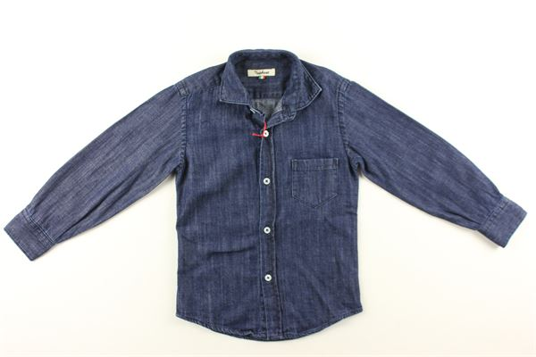 camica jeans tinta unita NUPKEET | Camicie | 04NK804BLU