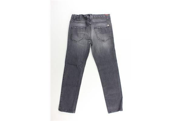 jeans tinta unita girovita regolabile NUPKEET | Jeans | 04NK814NERO