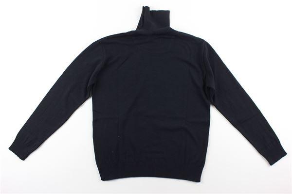 maglia tinta unita collo alto NUPKEET | Maglie | 04NK863BLU