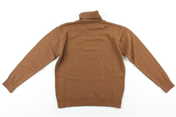 maglia tinta unita collo alto NUPKEET | Maglie | 04NK863FANGO