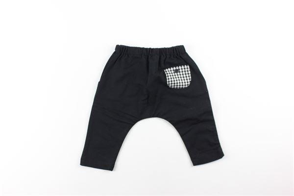 pantalone in felpa tinta unita OFFICINA 51 | Pantaloni | 53055NERO