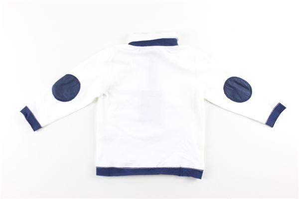 polo manica lunga tinta unita con profili in contrasto OFFICINA 51 | Polo | 58058BIANCO