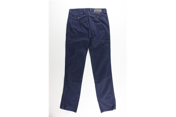 pantalone tinta unita tasca america PAOLO PECORA   Pantaloni   14IAJMPA571301BLU