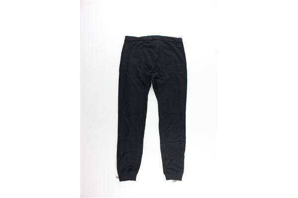 pantalone con elastici tinta unita PAOLO PECORA   Pantaloni   PP0786NERO