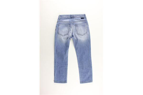 jeans 5 tasche tinta unita PAOLO PECORA   Jeans   PP2193JEANS