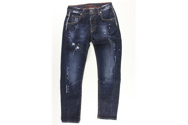 jeans 5 tasche tinta unita PATRIOT   Jeans   PB980BLU