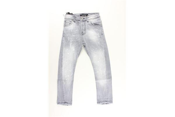 jeans 5 tasche tinta unita PATRIOT   Jeans   PK544GRIGIO