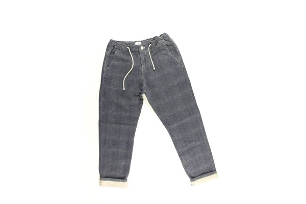 pantalone tinta unita elastico in vita PEUTEREY | Pantaloni | PTB1427BLU