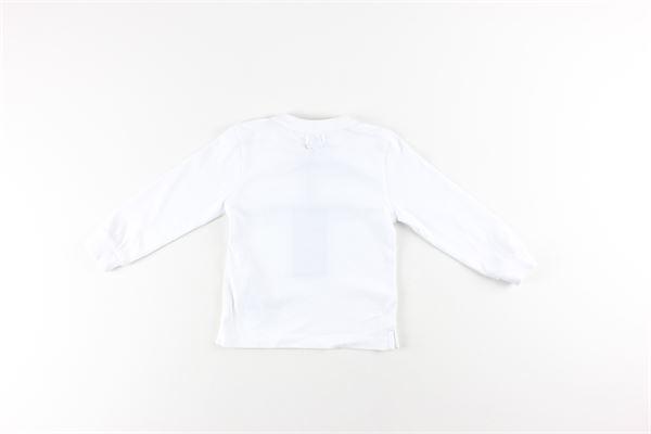 shirt tinta unita con stampa PEUTEREY | Shirts | PTB1936BIANCO