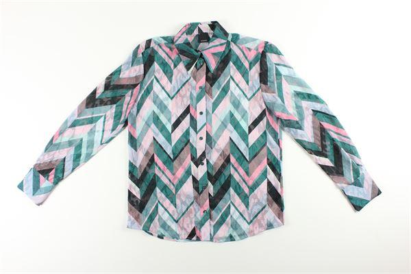 PINKO | Shirts | IB14U08296ROSA/VERDE