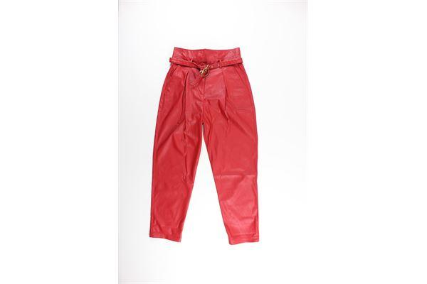 PINKO   Trousers   IG1521Y6BEROSSO