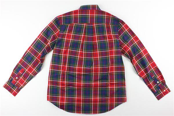 RALPH LAUREN   Shirts   323760798003ROSSO