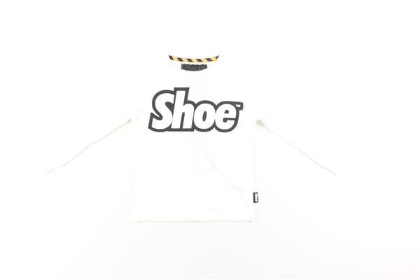 shirt con polsini tinta unita con stampa SHOE | Shirts | A8TM0401BIANCO