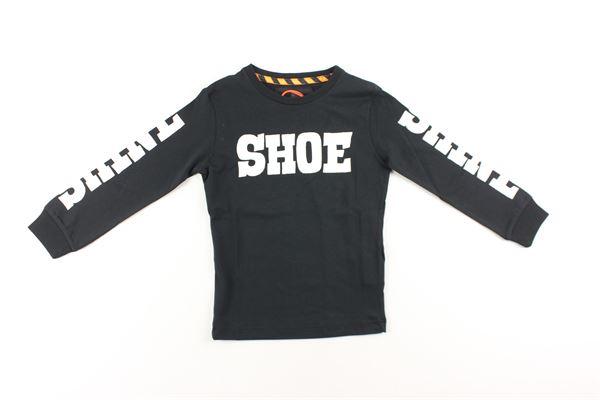 shirt con polsini tinta unita con stampa SHOE | Shirts | A8TM0423NERO