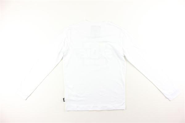 shirt tinta unita con stampa SHOE | Shirts | F20TONYJ0202BIANCO