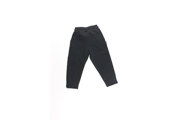 pantalone tuta tinta unita con stampa SHOE | Pantaloni | PAMELAJ0140NERO
