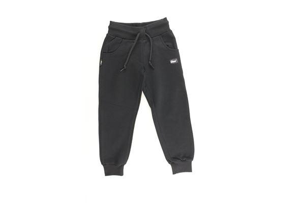 pantalone tuta tinta unita con stampa SHOE | Pantaloni | PAULJ01XNERO