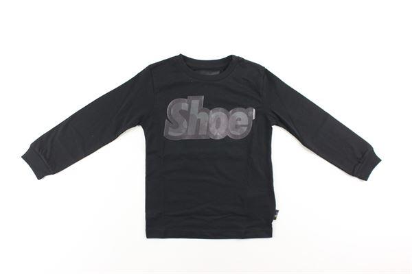 shirt con polsini tinta unita con stampa SHOE | Shirts | TONYJ0433NERO