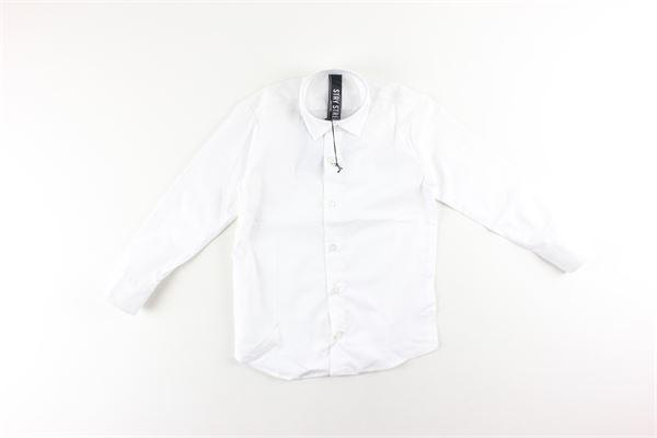 camicia manica lunga tinta unita STAY STREET | Camicie | CB906BIANCO