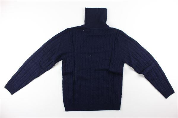 maglia collo alto tinta unita SUN68 | Maglie | K40346XBLU