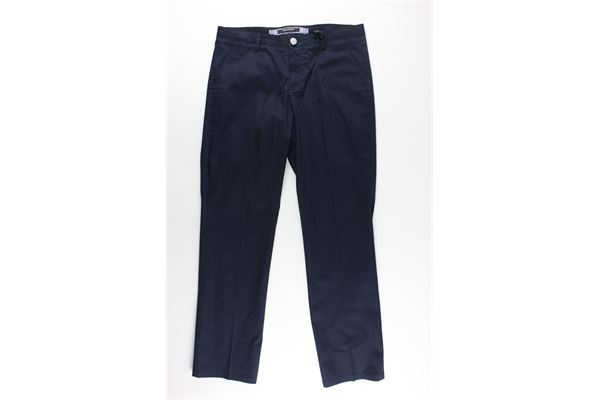 pantaloni tinta unita girovita regolabile TAGLIATORE   Pantaloni   TPA400BLU