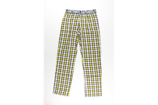 pantalone fantasia scozzese TIMBERLAND | Pantaloni | 566BLU