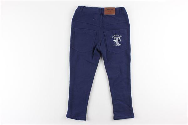 pantaloni tinta unita girovita regolabile 5 tasche TIMBERLAND | Pantaloni | T04869MBLU
