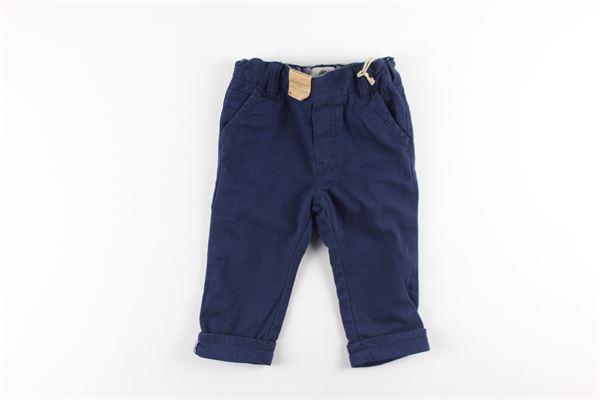 pantaloni tinta unita girovita regolabile TIMBERLAND | Pantaloni | T04870BLU
