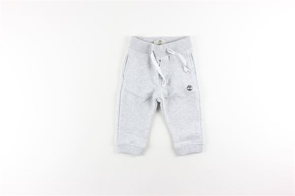 pantalone in felpa tinta unita TIMBERLAND | Pantaloni | T04934GRIGIO