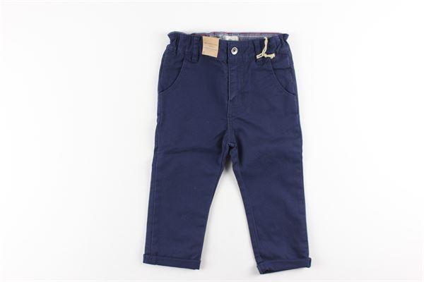 pantaloni tinta unita girovita regolabile TIMBERLAND | Pantaloni | T04937BLU