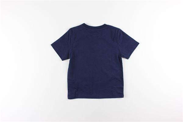 t-shirt tinta unita con stampa TIMBERLAND | T-shirts | T05H53BLU