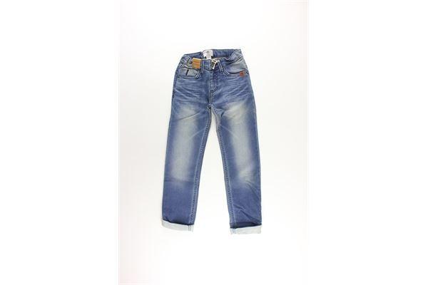 jeans 5 tasche girovita regolabile TIMBERLAND | Jeans | T24983BLU