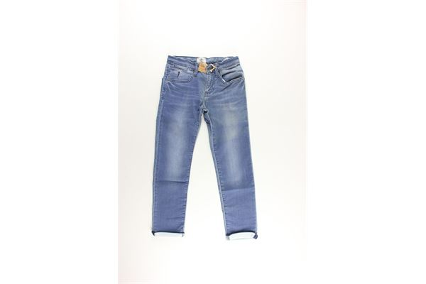 jeans 5 tasche girovita regolabile TIMBERLAND | Jeans | T24997BLU