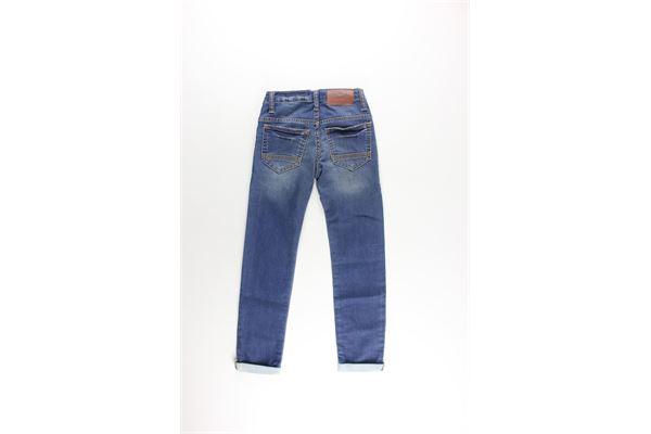jeans 5 tasche girovita regolabile TIMBERLAND | Jeans | T24A27BLU