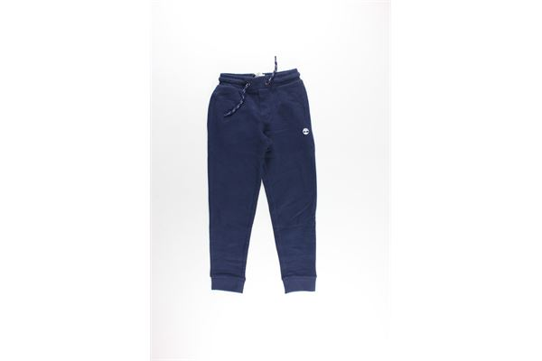 pantalone in felpa tinta unita TIMBERLAND | Pantaloni | T24Z03BLU