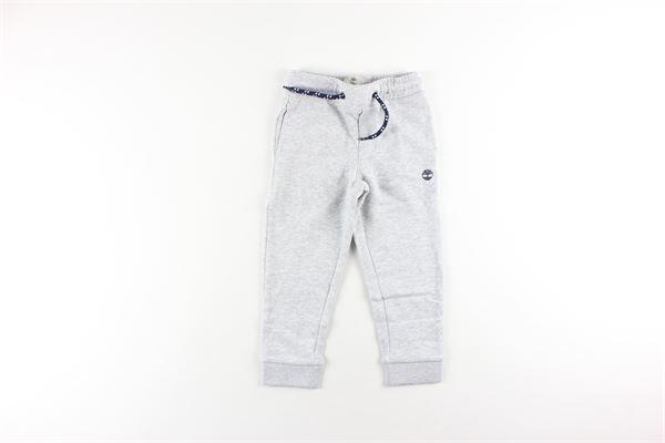 pantalone in felpa tinta unita TIMBERLAND | Pantaloni | T24Z03GRIGIO
