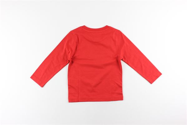 shirt tinta unita con stampa TIMBERLAND | Shirts | T25Q06ROSSO