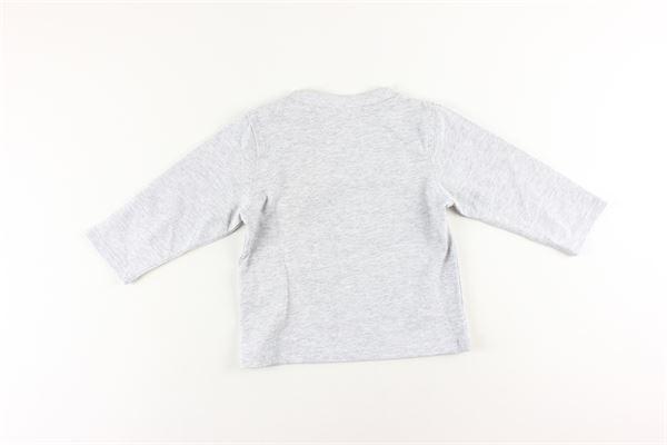 shirt tinta unita con stampa TIMBERLAND | Shirts | T25Q10GRIGIO