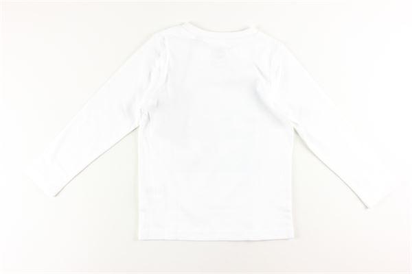 shirt tinta unita con stampa TIMBERLAND | Shirts | T25Q18BIANCO
