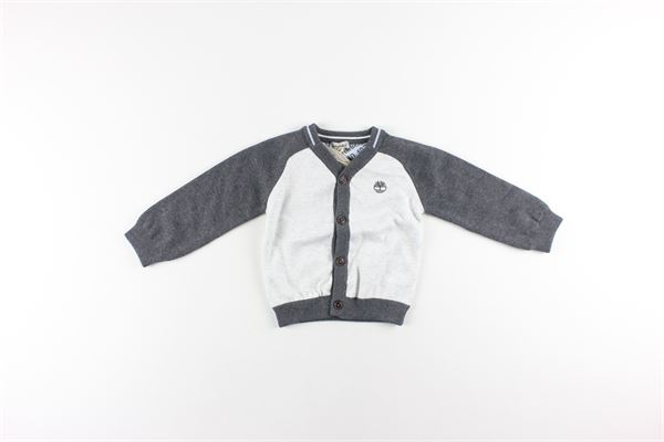cardigan bicolore con bottoni TIMBERLAND | Cardigan | T95872GRIGIO