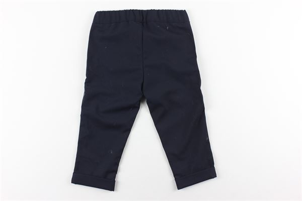 pantalone tinta unita elastico in vita TRUSSARDI   Pantaloni   TR02JQTR0FW0T817BLU