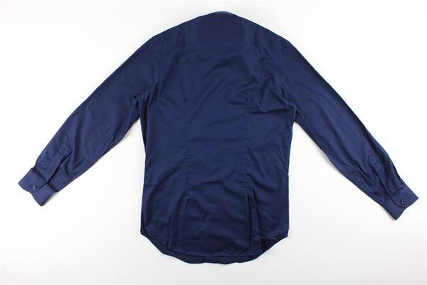 WEBB&SCOTT CO.   Shirts   CN.WT.BLU