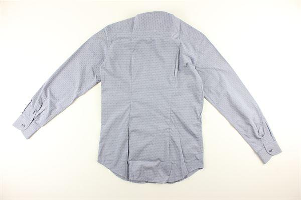 WEBB&SCOTT CO.   Shirts   E5.WT.233GCELESTE SCURO