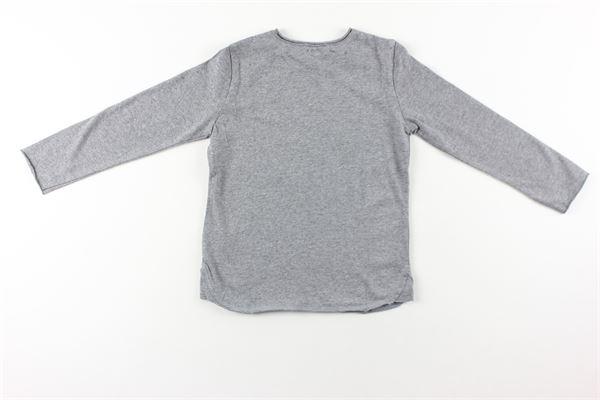 shirt tinta unita con stampa ZHOE & TOBIAH | Shirts | BJS9GRIGIO