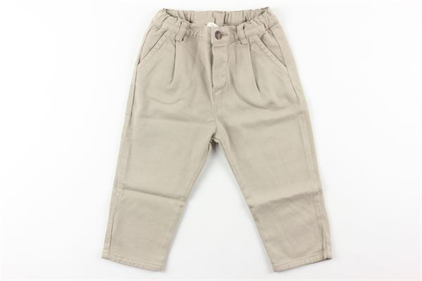 pantalone tinta unita girovita regolabile ZHOE & TOBIAH | Pantaloni | PTN3BEIGE