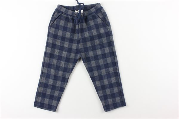 pantalone fantasia quadri elaatico in vita ZHOE & TOBIAH | Pantaloni | WWK3BLU